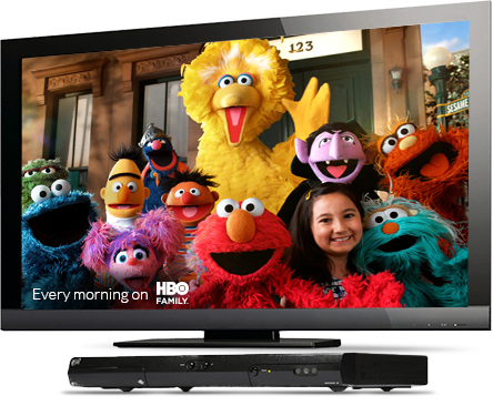 Sesame Street on HBO Family