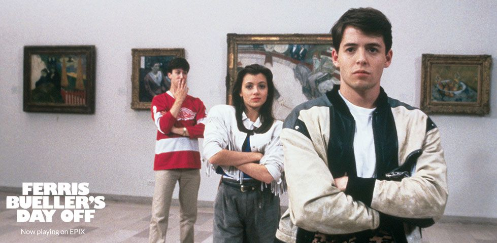 Ferris Bueller's Day Off 30th Anniversary on EPIX