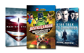 featured: Man of Steel, LEGO Justice League, Star Trek Into Darkness