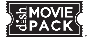 DISH Movie Pack logo
