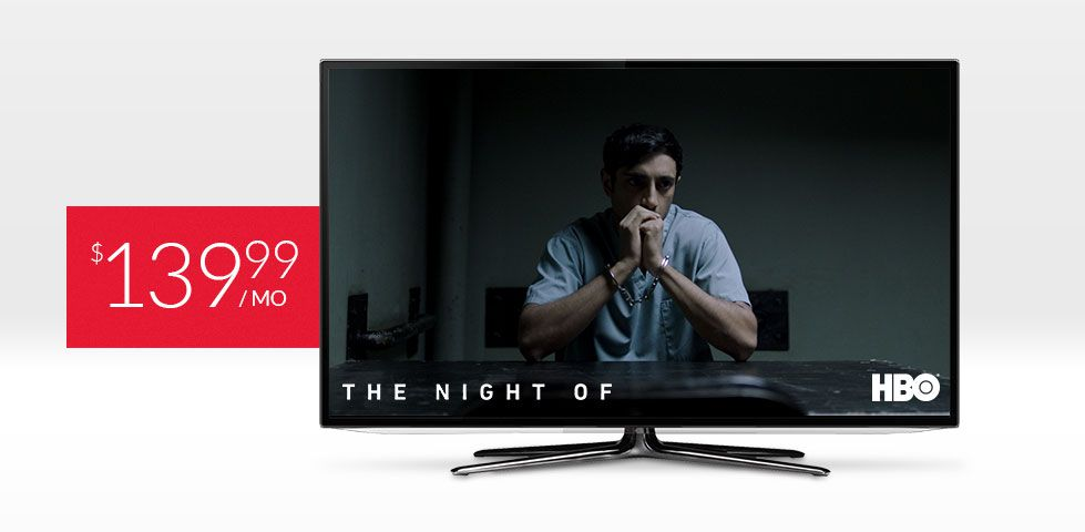 $139.99/mo | The Night Of on HBO, included in America's Everything Pack