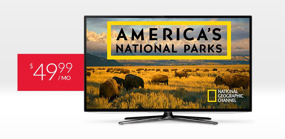 $49.99/mo | America's National Parks on National Geographic, included in DISH America