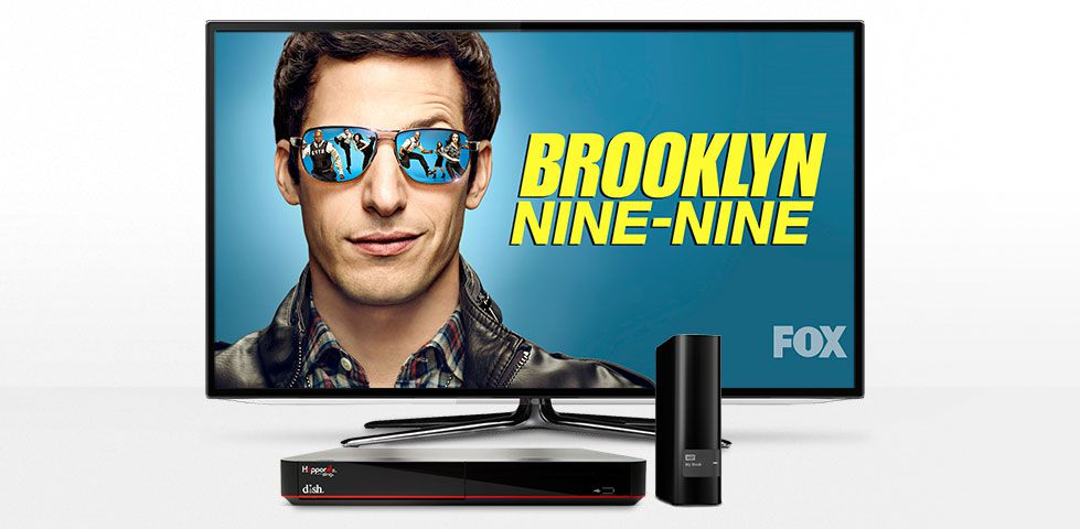 Transfer recordings, such as FOX's Brooklyn Nine-Nine, from your DVR to an external hard drive