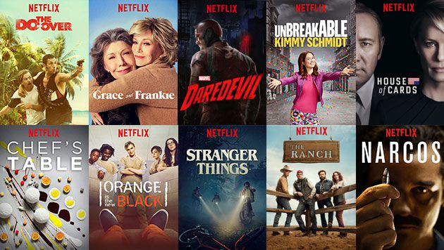 Image result for house of cards orange is the new black stranger things
