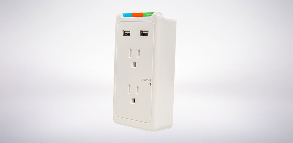 2+2 Surge Protector