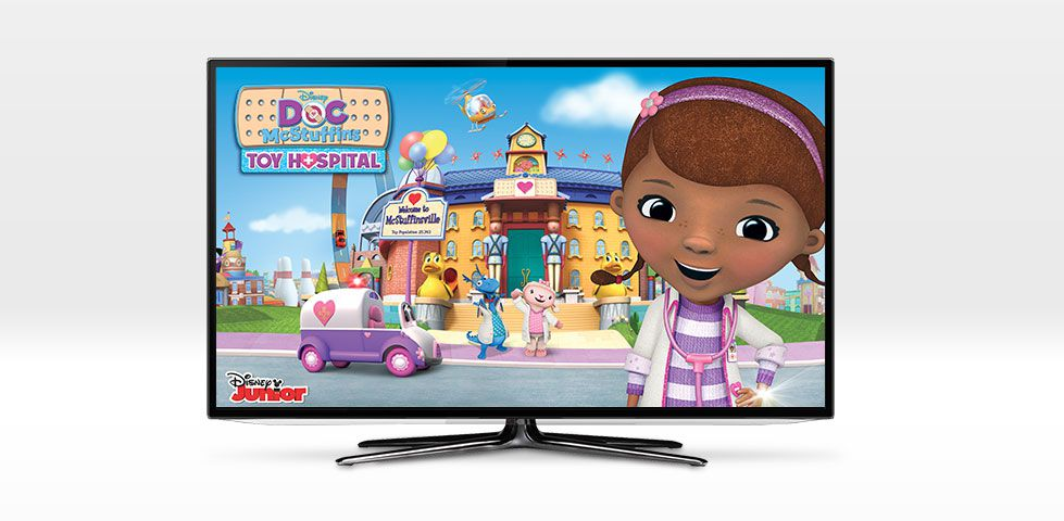 $94.99/mo | Doc McStuffins on Disney Junior, included in America's Top 250