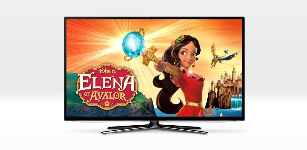 $81.99/mo | Elena of Avalor on Disney Channel, included in DishLATINO Max