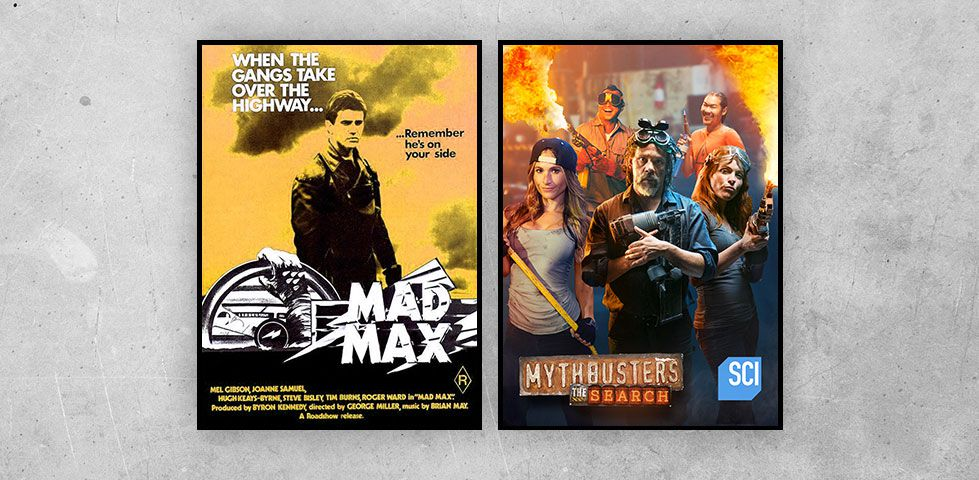 Featured programming on DISH Studio Ch. 102 for February includes Mad Max and Mythbusters: The Search