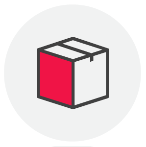 Moving box icon