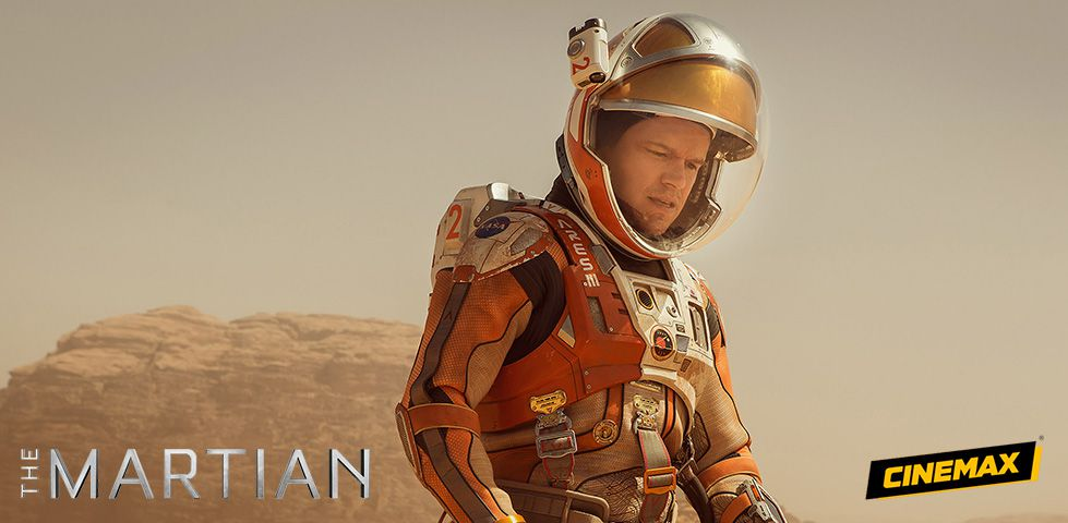 The Martian, now playing on Cinemax