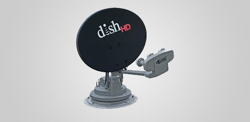 Trav'ler Rooftop Automatic Portable Dish
