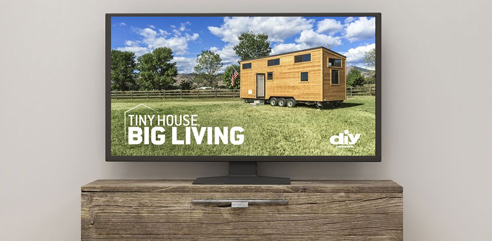 DIY Network is in free preview with shows like Tiny House, Big Living