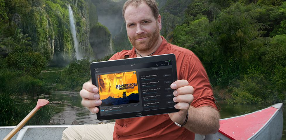 Josh Gates from Expedition Unknown on the Travel Channel