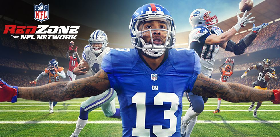 Odell Beckham, arms wide -- NFL Red Zone from NFL Network