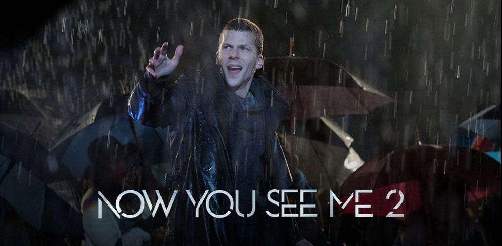 Jesse Eisenberg in Now  You See Me 2, on Cinemax
