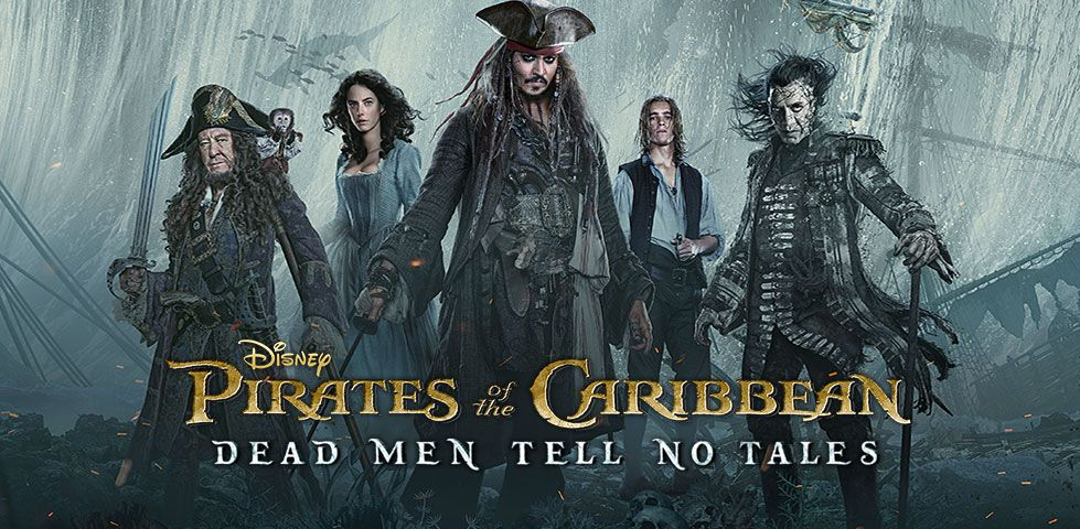 Pirates of the Caribbean: Dead Men Tell No Tales, now playing on DISH Cinema