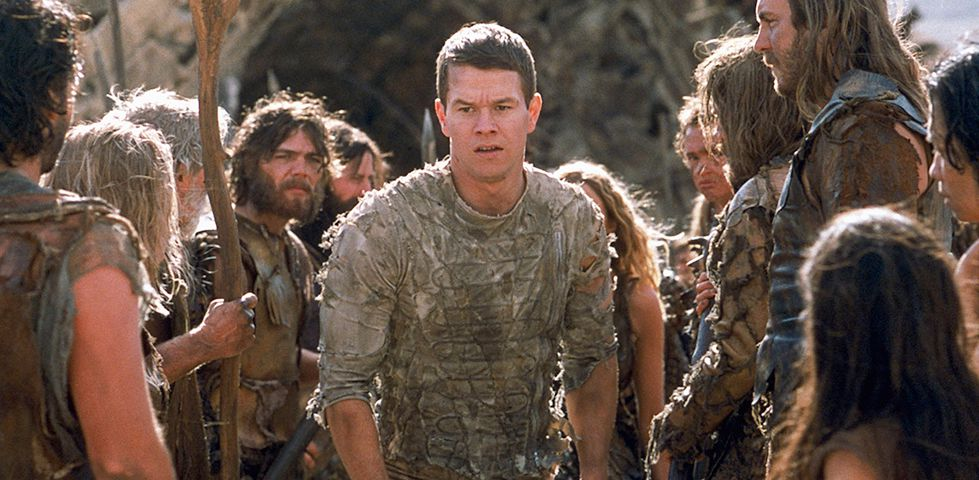 Mark Wahlberg in Planet of the Apes, now playing on Starz