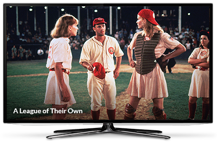 scene from A League of Their Own