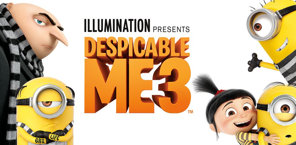 Despicable Me 3, now playing on DISH Cinema