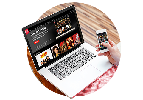 Watch TV on your laptop or mobile device with DISH Anywhere