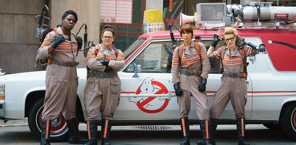 Ghostbusters (2016), now playing on Starz