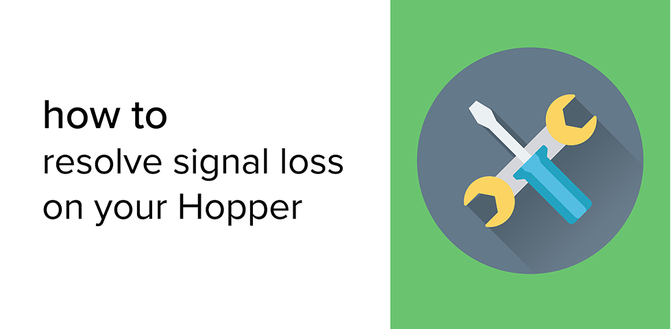 Still frame from video for resolving signal loss on your Hopper