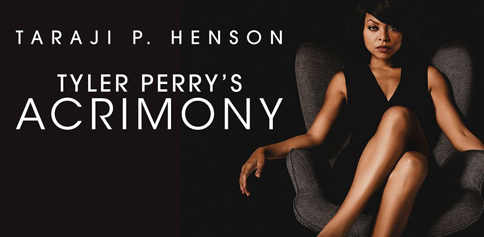 Taraji P Henson stars in Tyler Perry's ACRIMONY, now playing on DISH Cinema