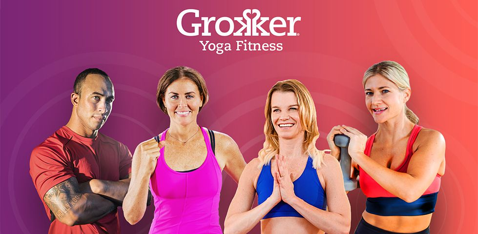 Yoga practitioners on Grokker