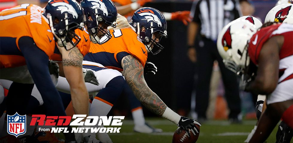 NFL RedZone - Denver Broncos getting ready for a snap