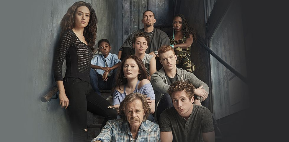Cast of SHAMELESS, on Showtime