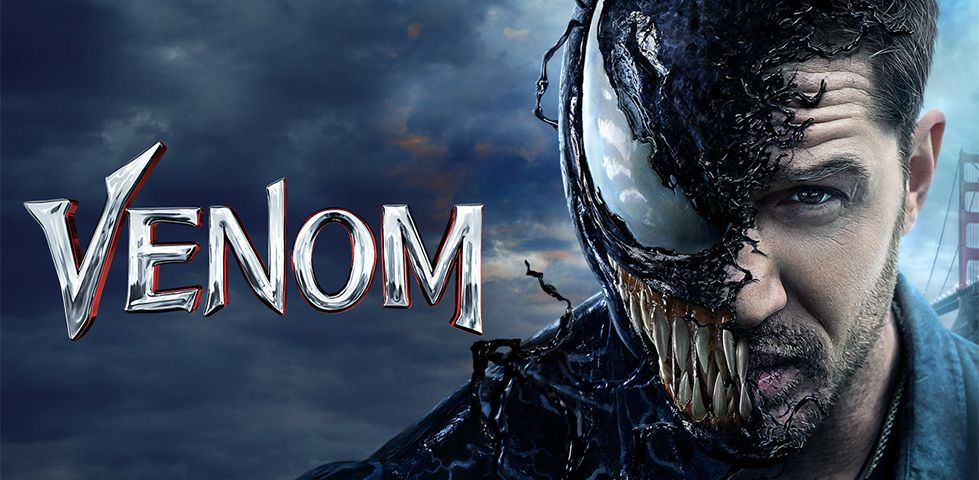 Tom Hardy stars in VENOM, now playing On Demand with DISH