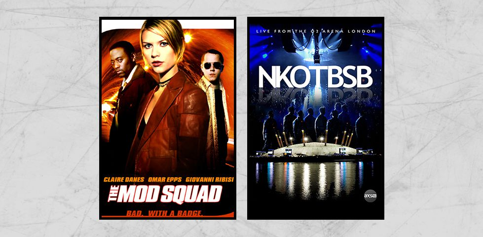 Featured programming on DISH Studio Ch. 102 for January includes 'The Mod Squad' and New Kids on the Block with Backstreet Boys