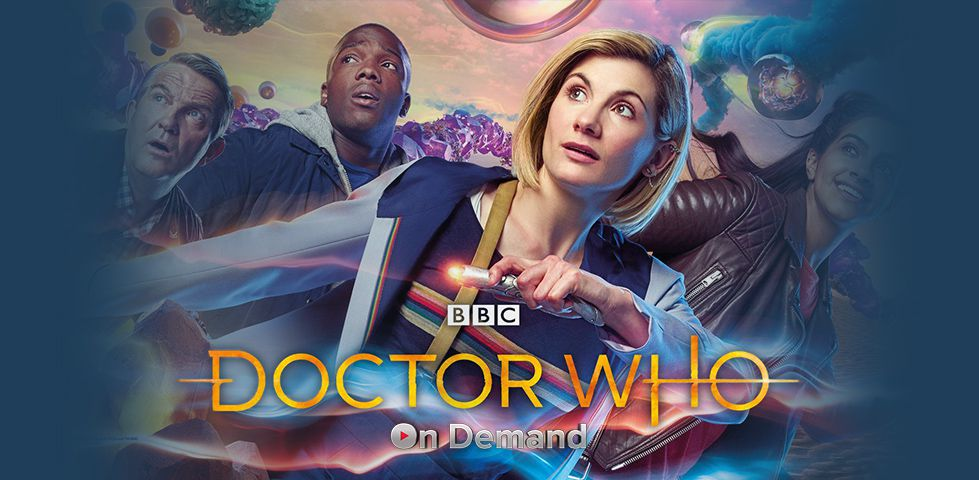 Jodie Whitaker is Doctor Who, on BBC America and DISH On Demand