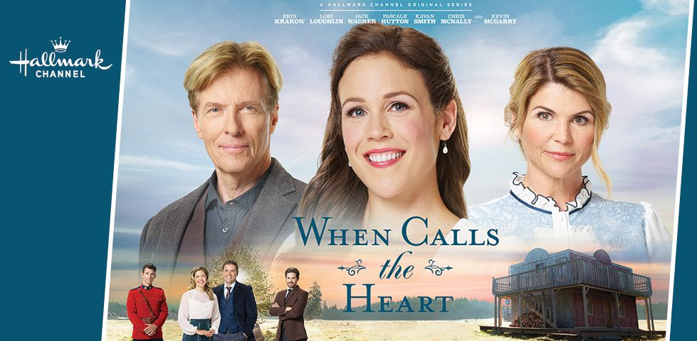 Cast of 'When Calls the Heart', on Hallmark Channel.