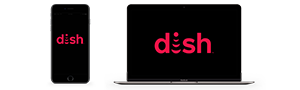 DISH Anywhere on a phone or laptop