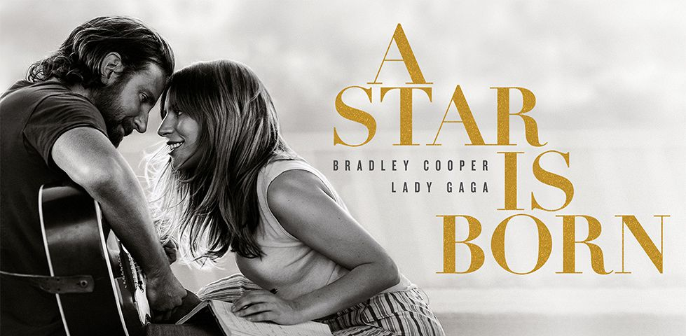 Bradley Cooper and Lady Gaga, in 'A Star is Born'.