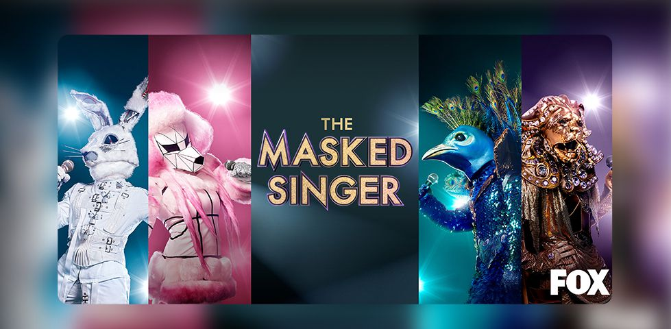 singers in costume perform on The Masked Singer, on FOX