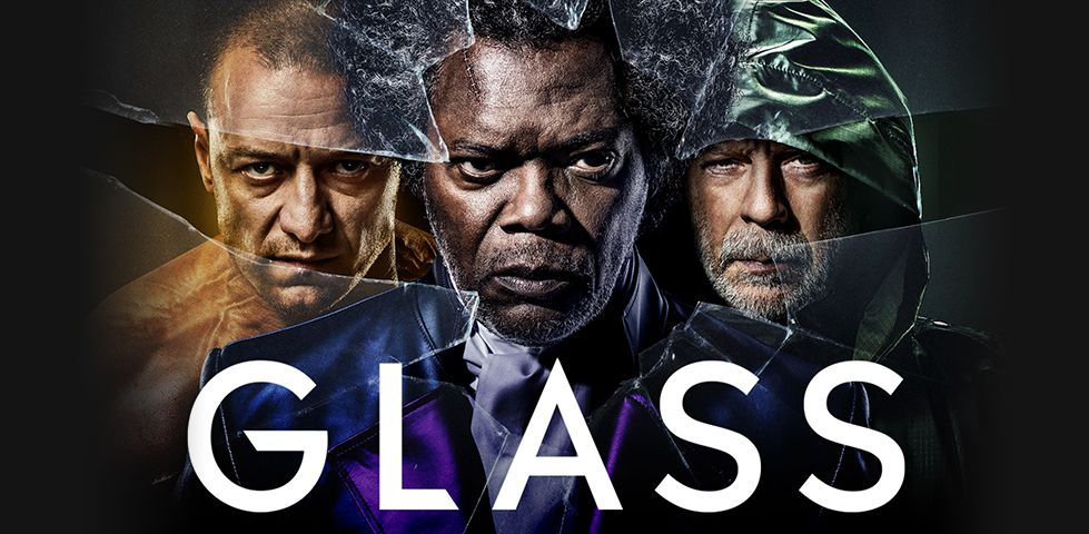 James McAvoy, Samuel L Jackson, and Bruce Willis star in Glass