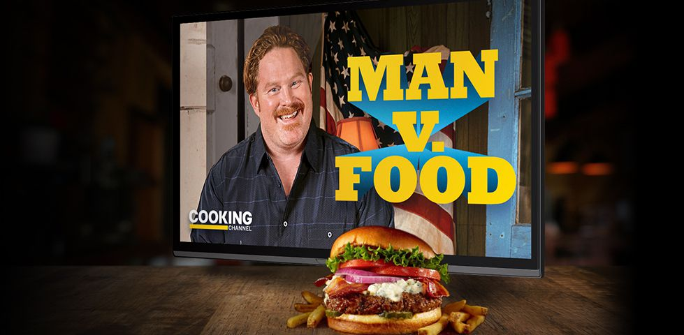 Cooking Channel is in free preview on DISH, featuring shows like Man vs Food