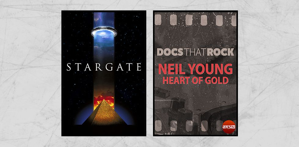 Featured programming on DISH Studio Ch. 102 for July 2019 includes 'Stargate' and Neil Young in concert
