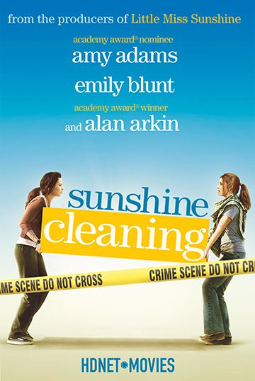 Amy Adams and Emily Blunt star in Sunshine Cleaning