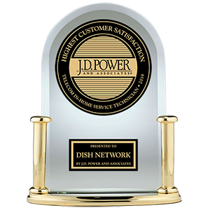 J.D. Power and Associates Awards for DISH being #1 in Customer Satisfaction among In-Home Service Technicians