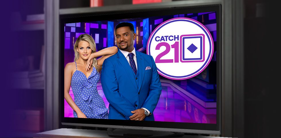 Alfonso Ribeiro hosts Catch 21 on Game Show Network