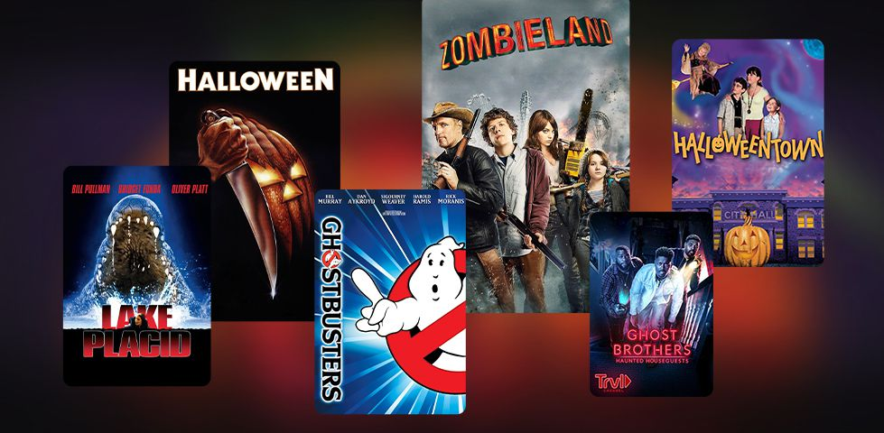 Featured On Demand content includes Ghostbusters, Lake Placid, Zombieland, and Halloween