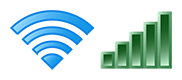 example Wi-Fi icon on most computers