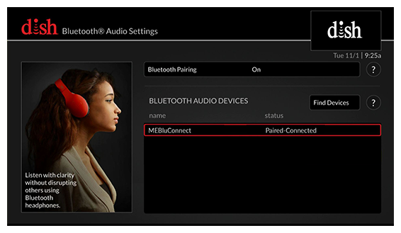 Bluetooth device showing as paired