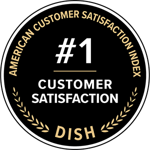 American Customer Satisfaction Index award for DISH being ranked number 1 in Customer Satisfaction
