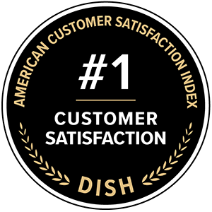 American Customer Satisfaction Index awards for DISH: number 1 in customer satisfaction
