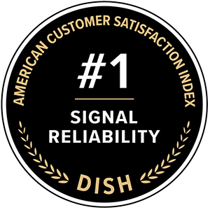 American Customer Satisfaction Index awards for DISH: number 1 in signal reliability