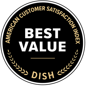 American Customer Satisfaction Index awards for DISH: best value